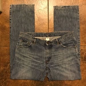 Dolce and Gabbana jeans.